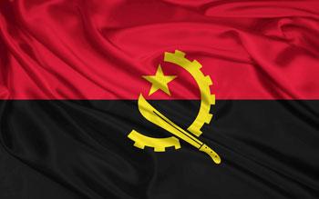 Resultado de imagem para imagem da bandeira do angola